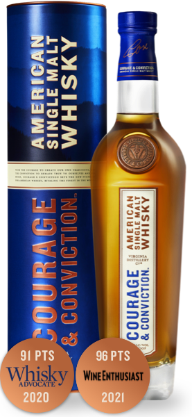Courage & Conviction American Single Malt Whisky